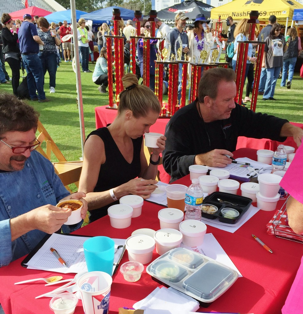 Chili judges