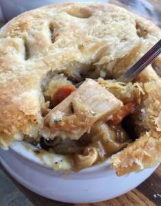 Turkey and Garbanzo Pot Pie