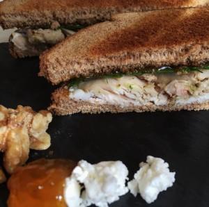 Day after Thanksgiving Turkey Sandwich