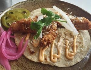 Buttermilk Fried Chicken Taco