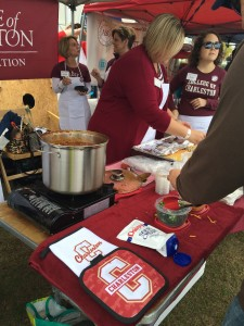 Some CofC Alumni serving up the chili
