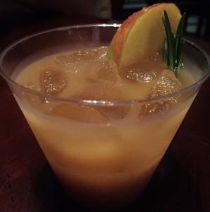 Caramel Apple Ginger Sangria