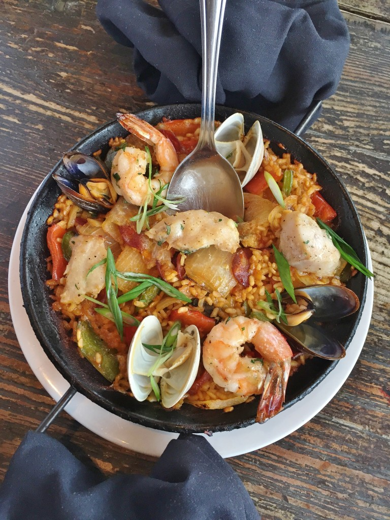 Seafood Paella with Chorizo