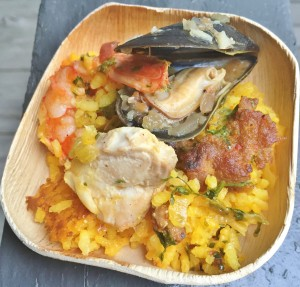 a taste of Paella