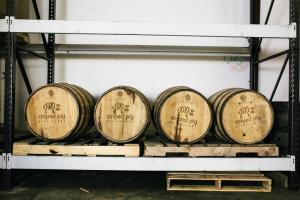 a little distillery ambiance