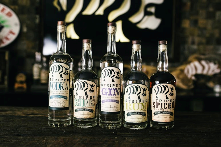 Striped Pig spirits