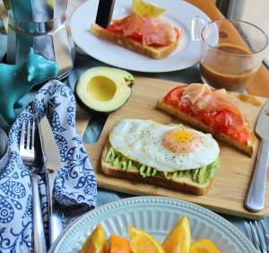 cute little breakfast