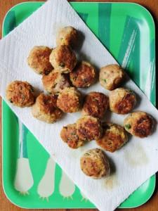 seared balls
